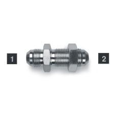 Hydraulic Adapters Union, Male, Bulkhead, JIC 7/16-20