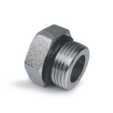 Hydraulic Adapters Plug, Hex Head, ORB 3/8-24