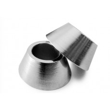 Rod End Spacers Plated Steel 8mm Bore