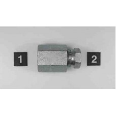 Hydraulic Adapters Union, Female, Swivel, Pipe (NPTF) - Pipe (NPSM) 1/4-18