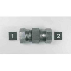 Hydraulic Adapters Union, Female, Swivel x 2, Pipe (NPSM) 1/4-18