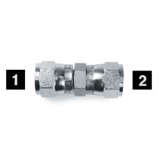 Hydraulic Adapters Union, Female, Swivel, JIC 9/16-18