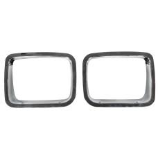 OEM Components Headlight Bezel Chrome